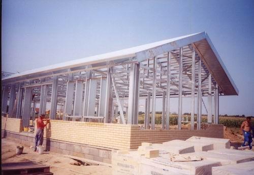 2004 – Lindab SBS ház – Az első Dél-Nyugat Magyarországon