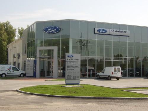 2006 – Ford FX Autószalon – Pécs